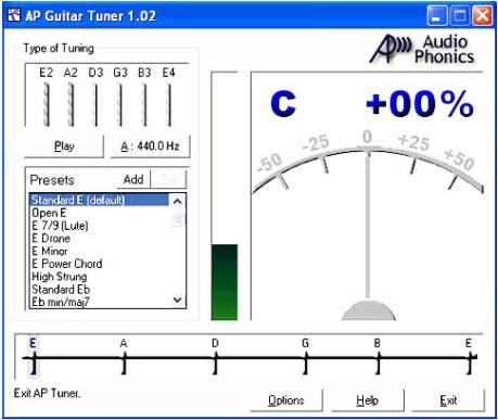 AP Guitar Tuner 1.02
