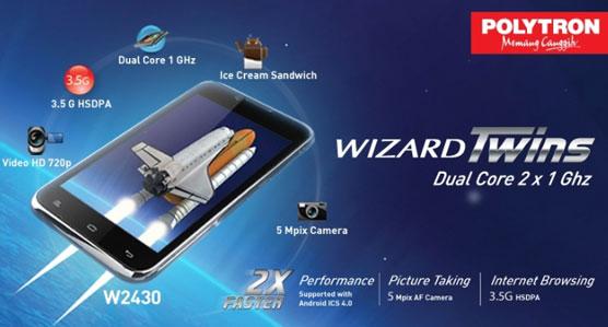 Polytron W2430 Wizard Twins