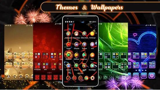 Tema 3D 2018 untuk Android