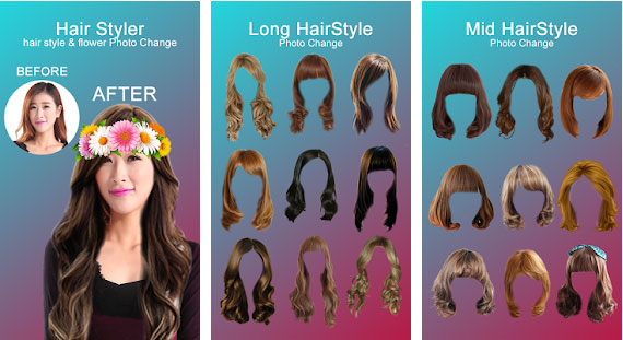 Hair Styler App For Women
