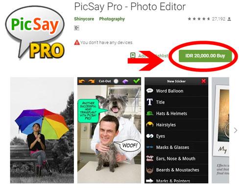 Picsay Pro Mod Apk Full Versi Terbaru GRATIS
