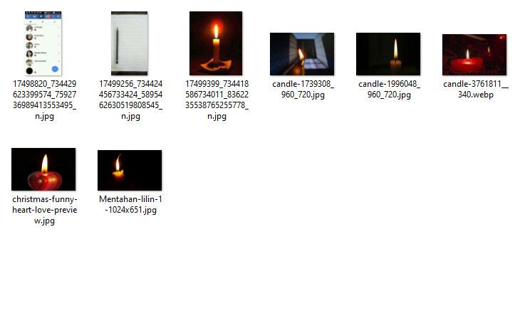Mentahan Lilin, Gambar Lucu dan Lainnya