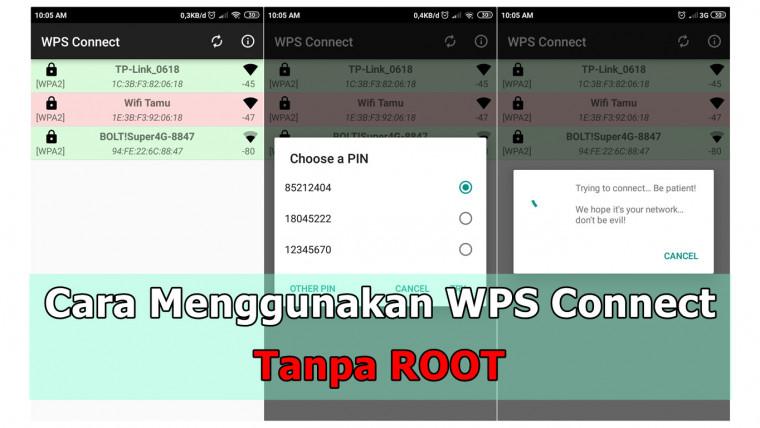 Cara Menggunakan WPS Connect